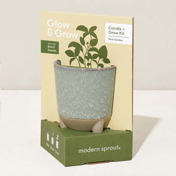 Glow and Grow- Herb Garden