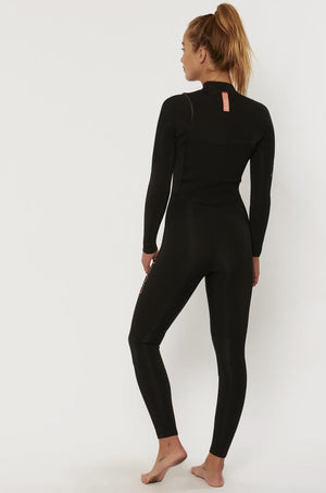 Women's 7 SEAS 4/3 Chest Zip - Black