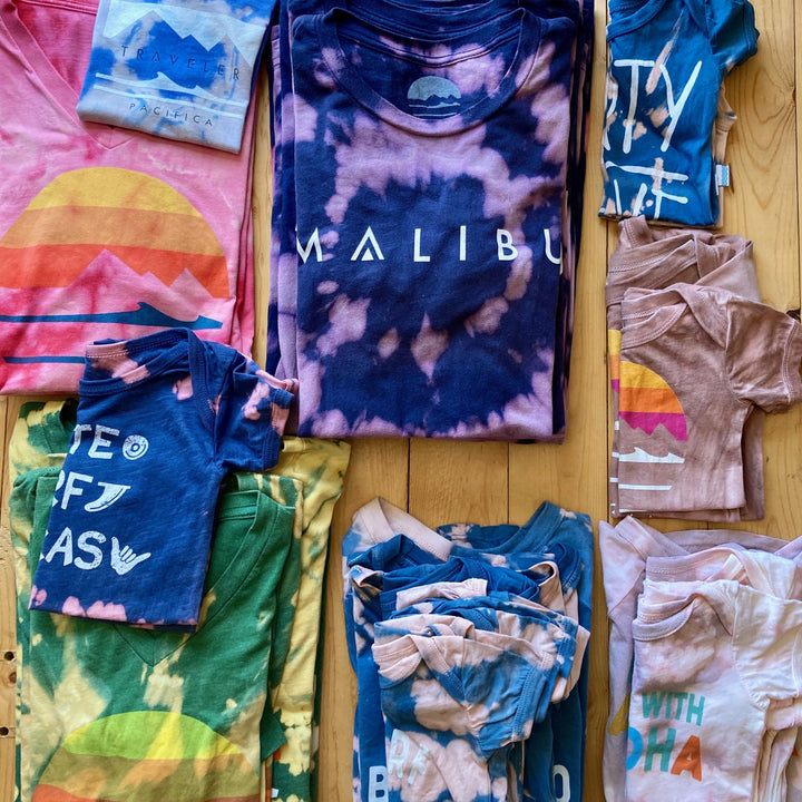 Traveler X Seawitches Tie Dye Shirts and Kids Apparel
