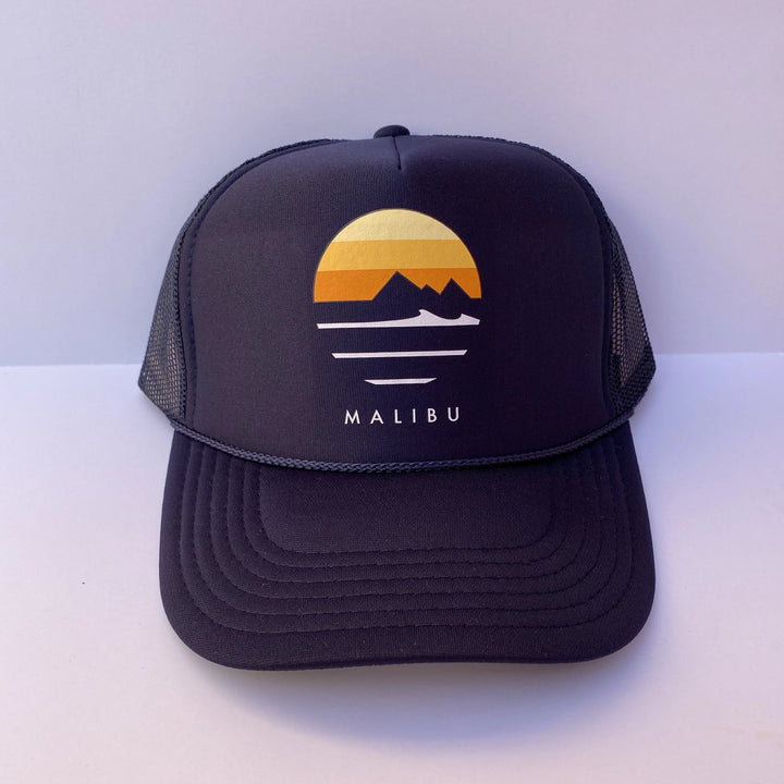 Traveler Malibu Foam Trucker Hats - Sunset