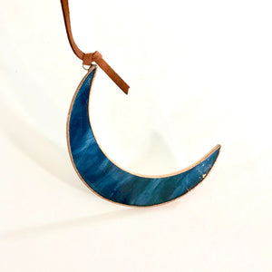 Crescent Moon Stained Glass
