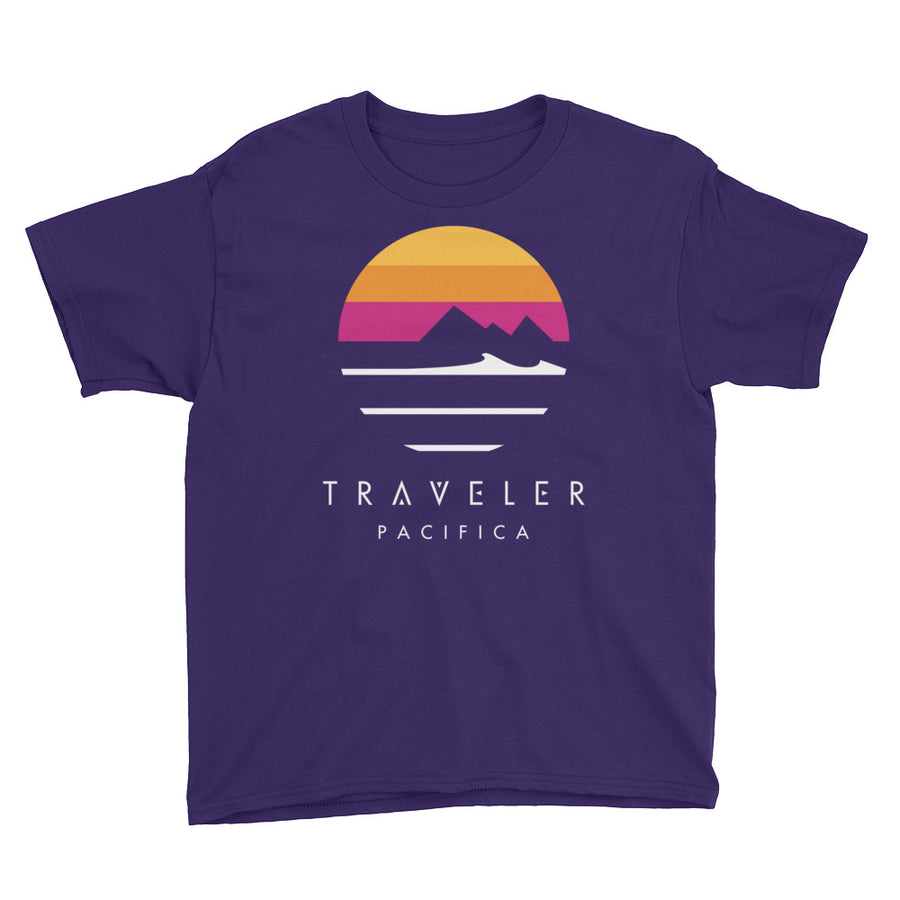 Traveler Pacifica Logo Youth Tee