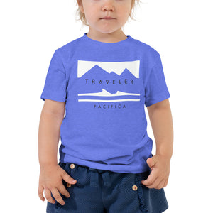 Traveler Pacifica Rectangle Logo Toddler Tee