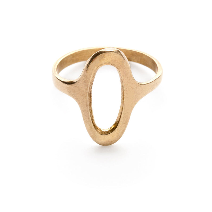 Oval Face Ring