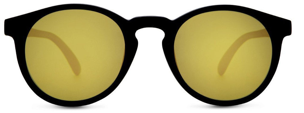 Dipsea Sunglasses - Black/Gold