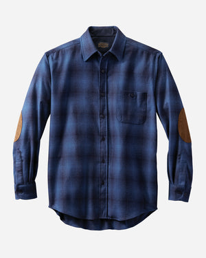 Trail Shirt w/ Elbow Patch - Blue Ombre