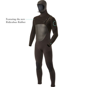 High Seas 4/3 Hooded Full Suit