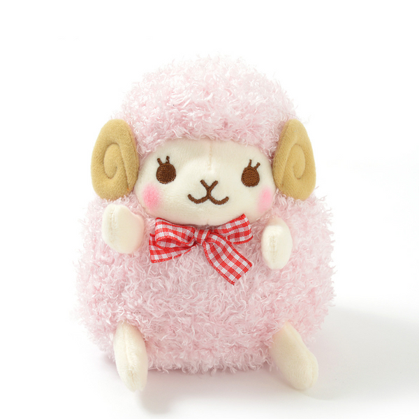 Amuse - Standard Wooly Lovely Face - Mary (normal) Sheep plush toy  - Yoisho! House