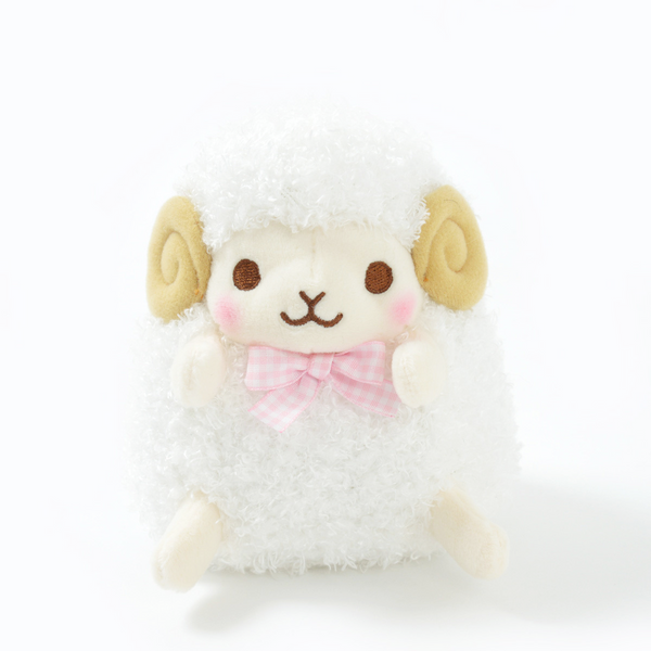 Amuse - Standard Wooly Lovely Face - Wooly (normal) Sheep plush toy  - Yoisho! House