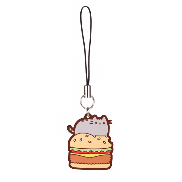 Hey Chickadee - Pusheen Burger phone charm  - Yoisho! House - 1
