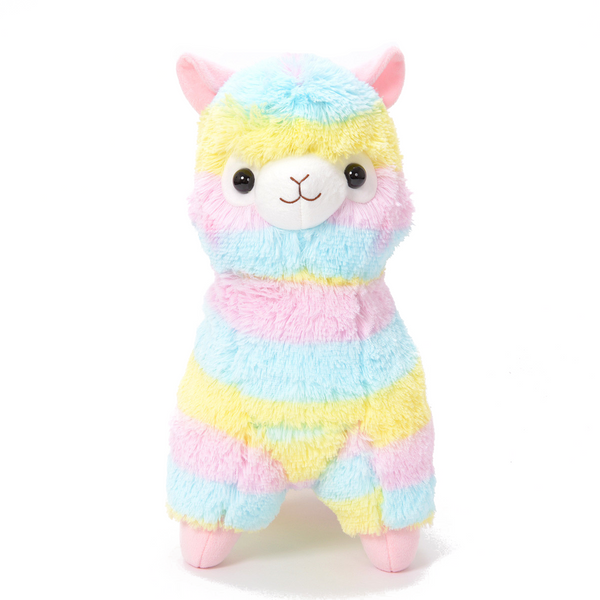 Amuse - Big Alpacasso - Rainbow Alpaca plush  - Yoisho! House - 1