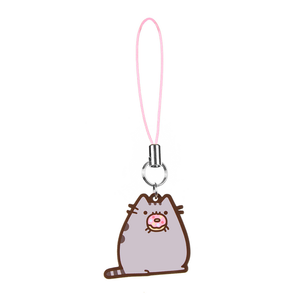 Hey Chickadee - Donut Pusheen phone charm  - Yoisho! House - 1