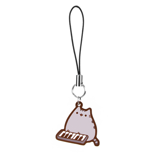 Hey Chickadee - Keyboard Pusheen phone charm  - Yoisho! House - 1