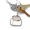Hey Chickadee - Pusheen Marshmallow Nap keychain  - Yoisho! House - 2