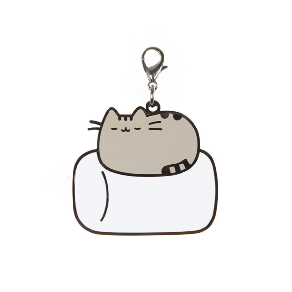 Hey Chickadee - Pusheen Marshmallow Nap keychain  - Yoisho! House - 1