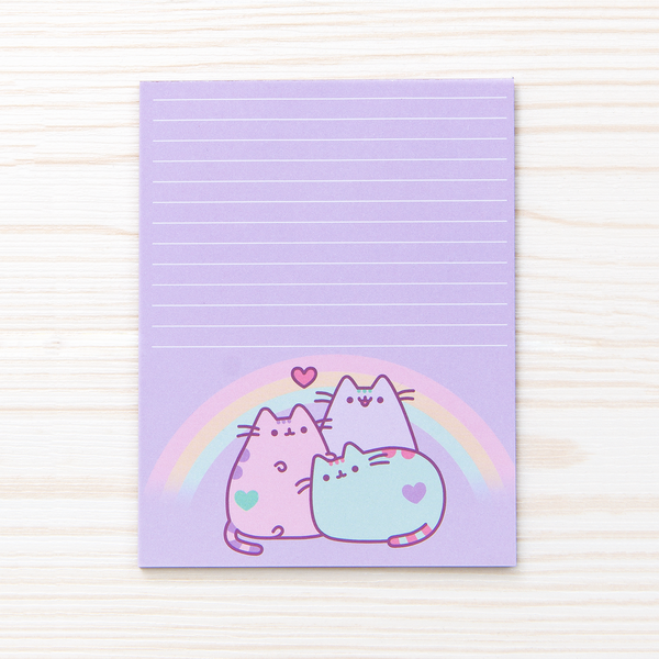 Pastel Pusheen notepad