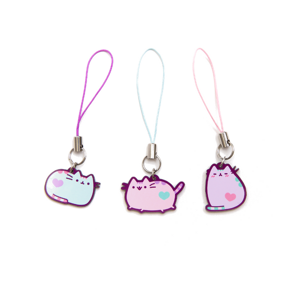 Hey Chickadee - Pastel Pusheen phone charm  - Yoisho! House