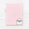 Hey Chickadee - Polka Dot Pusheen notepad  - Yoisho! House - 1