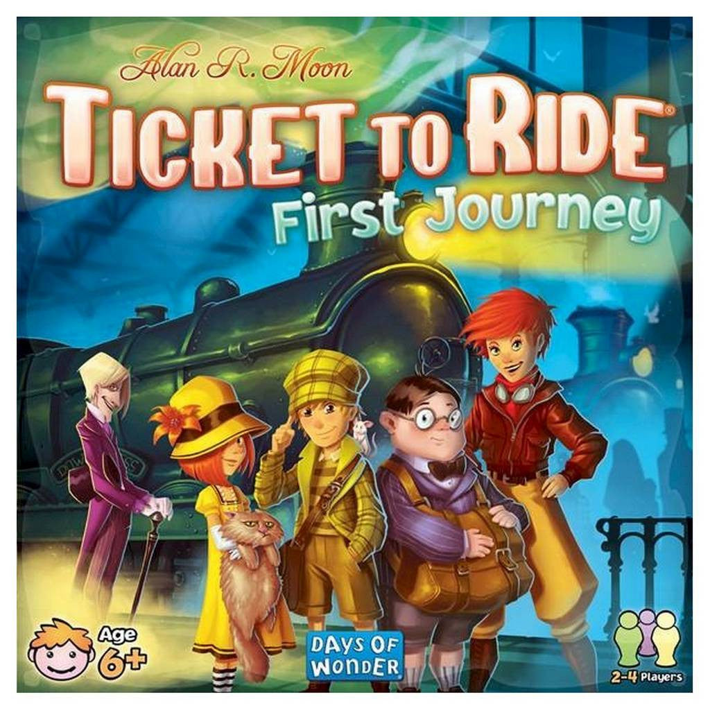 Ticket to Ride First Journey - Blue Herring Games - 1