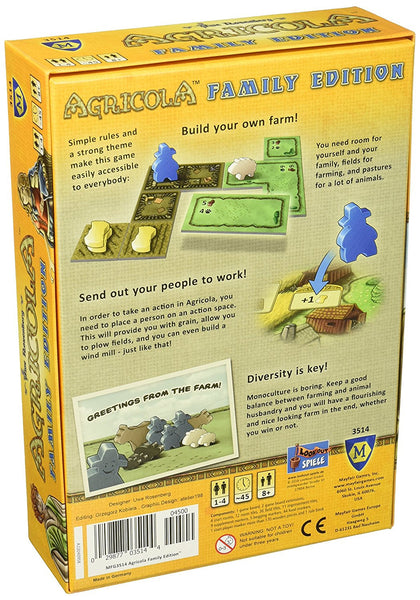 Agricola Family Edition - Blue Herring Games - 2