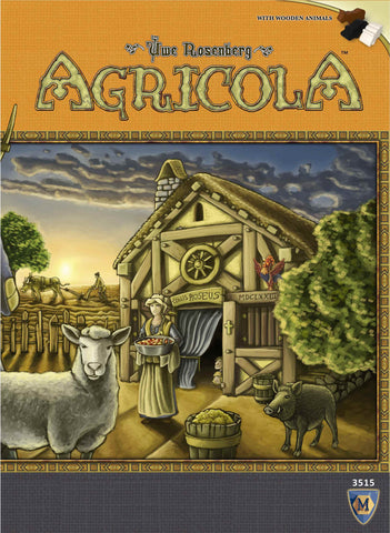 Agricola New Edition (Clearance - cover crease) - Blue Herring Games - 1