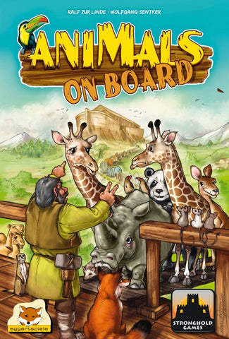 Animals on Board - Blue Herring Games
