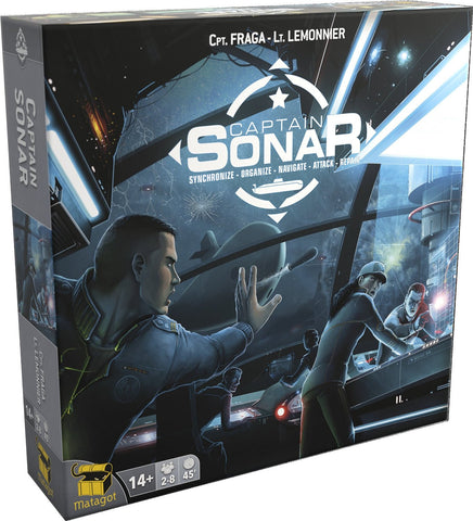 Captain Sonar - Blue Herring Games - 1