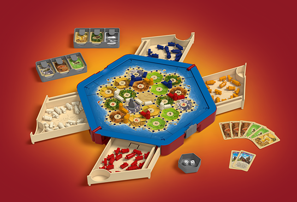 Catan Traveler - Compact Edition - Blue Herring Games - 2