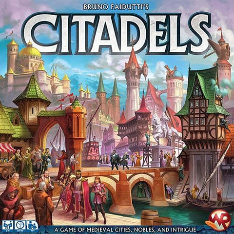 Citadels Deluxe - Blue Herring Games