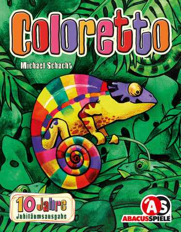 Coloretto - 10th anniversary edition - Blue Herring Games