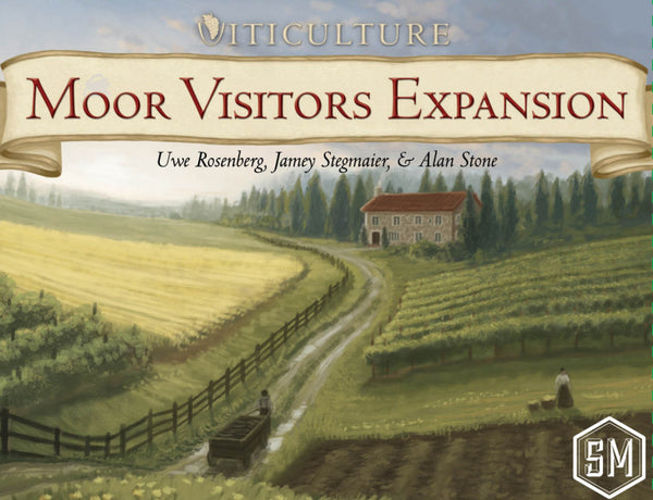 Viticulture - Moor Visitors expansion - Blue Herring Games - 1