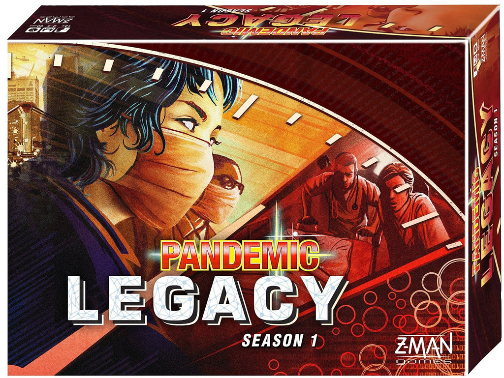 Pandemic Legacy Red Edition - Season 1 - Blue Herring Games