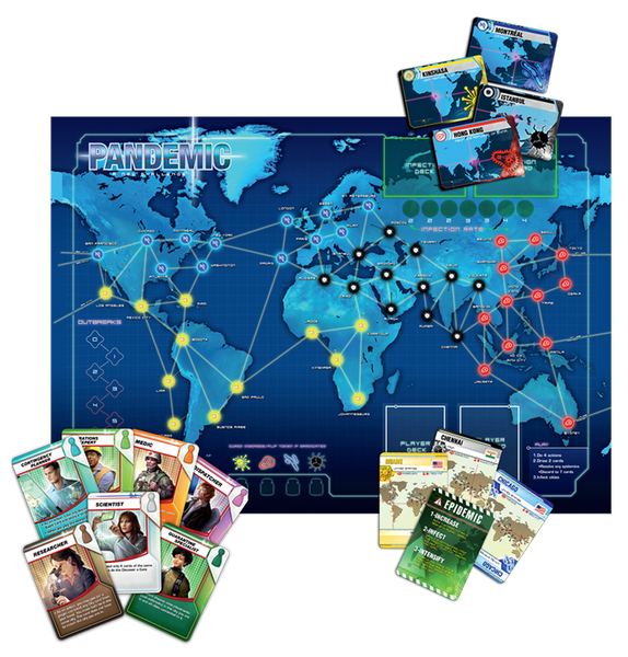 Pandemic - Blue Herring Games - 2