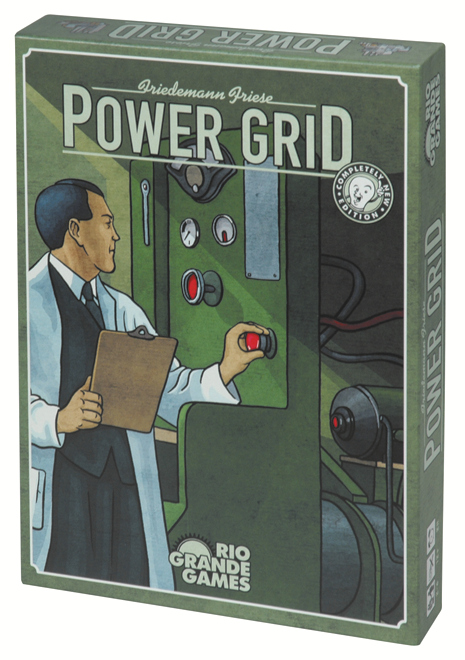 Power Grid - Blue Herring Games