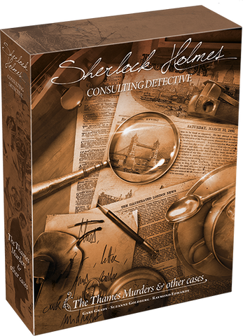 Sherlock Holmes Consulting Detective | The Thames Murders & other cases