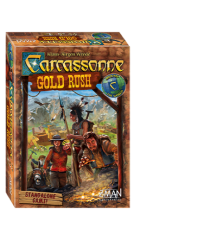 Carcassonne Gold Rush *Sale* - Blue Herring Games