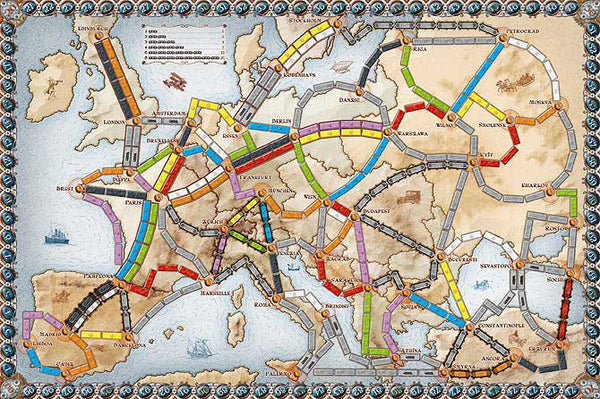 Ticket to Ride Europe - Blue Herring Games - 2