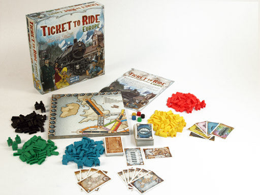 Ticket to Ride Europe - Blue Herring Games - 3