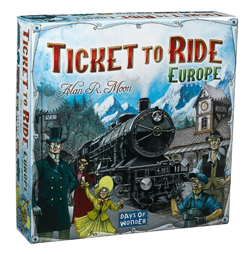 Ticket to Ride Europe - Blue Herring Games - 1