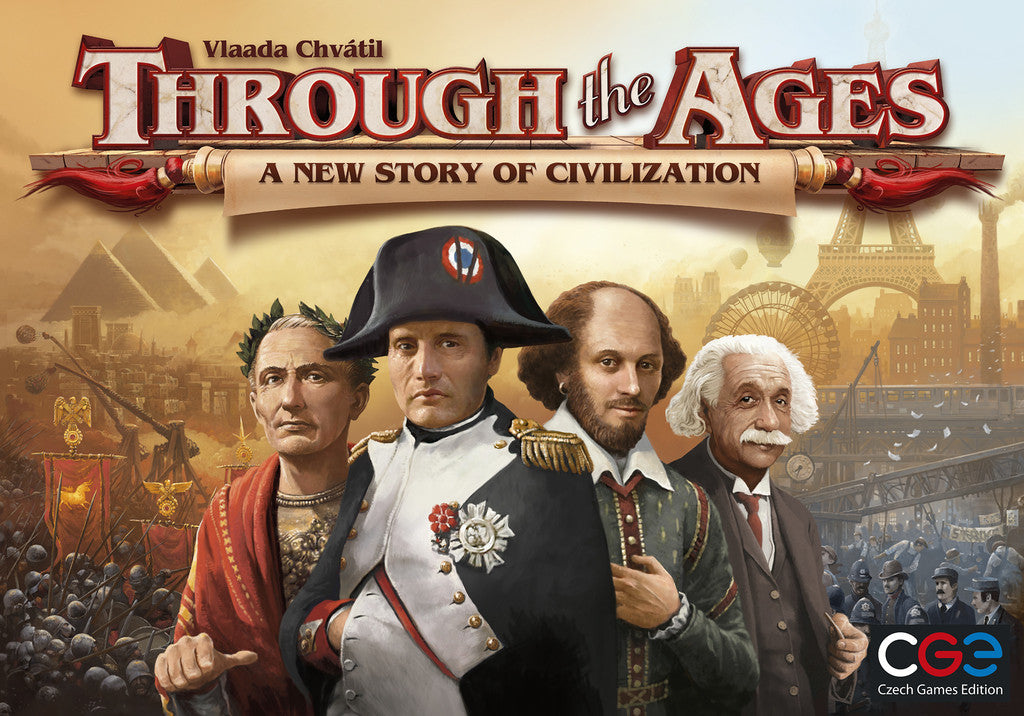 Through the Ages - A new story of civilisation - Blue Herring Games
