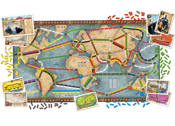Ticket to Ride Rails and Sails - Blue Herring Games - 2