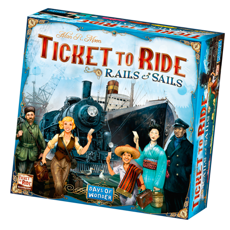 Ticket to Ride Rails and Sails - Blue Herring Games - 1