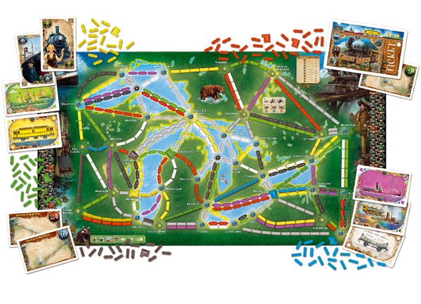 Ticket to Ride Rails and Sails - Blue Herring Games - 3