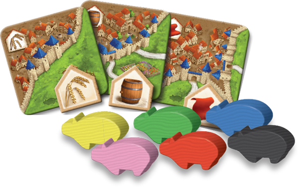 Carcassonne | Traders and Builders
