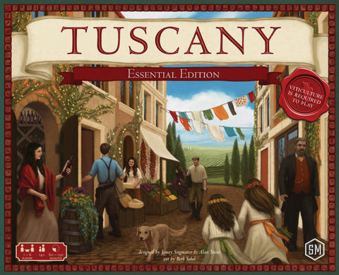Tuscany Essential Edition - Viticulture Expansion - Blue Herring Games - 1