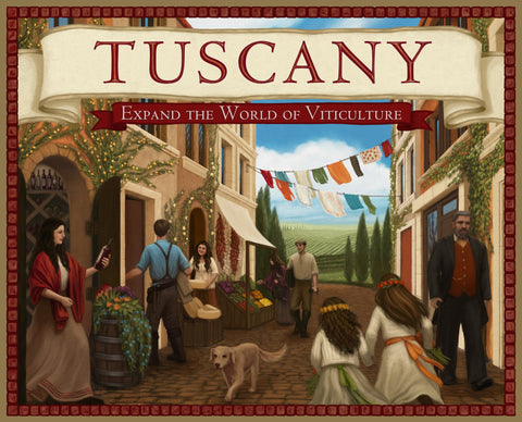 Tuscany: Expand the World of Viticulture (Complete Edition) *Sale* - Blue Herring Games - 1