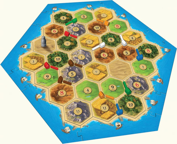Catan 5 & 6 player expansion - Blue Herring Games - 2
