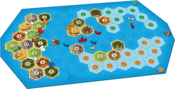 Catan - Explorers and Pirates Expansion - Blue Herring Games - 2