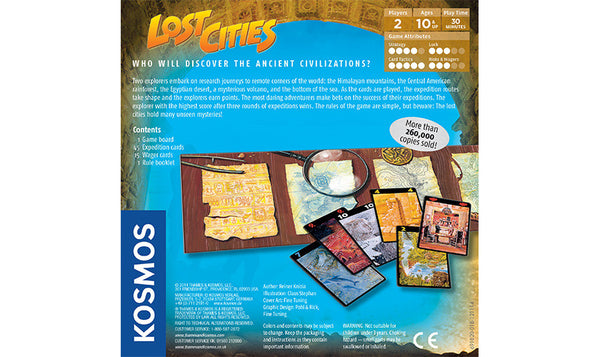 Lost Cities Card Game - Blue Herring Games - 2