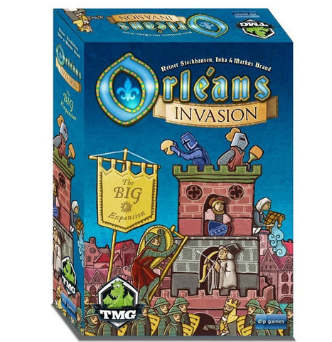 Orleans: Invasion (Preorder) - Blue Herring Games